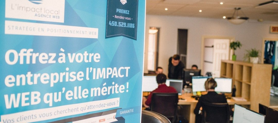 emploi webdevelloppeur Impact local